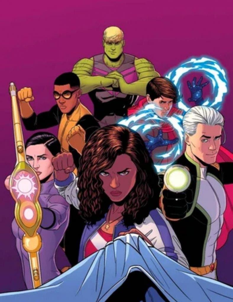 Young Avengers mcu phase 4 DKODING