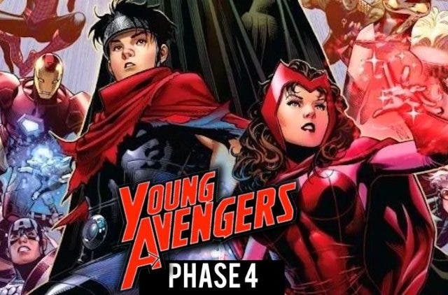 Young Young Avengers in MCU Phase 4 DKODING