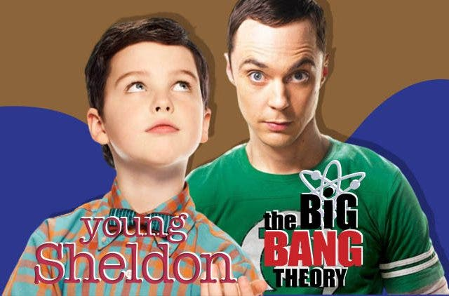 Young Sheldon and The Big Bang Theory