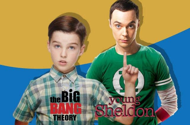 Young Sheldon Big Bang Theory