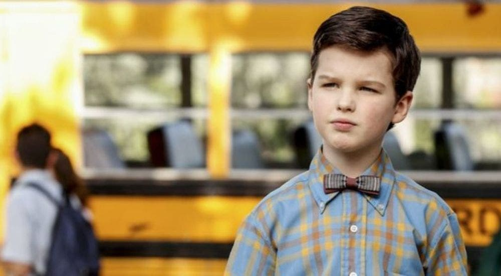 A still from Young Sheldon