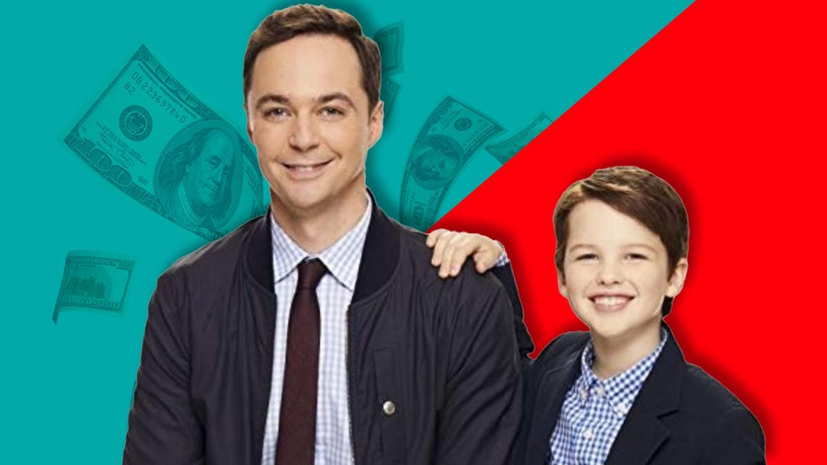 How much money does Jim Parsons make from 'Young Sheldon'?