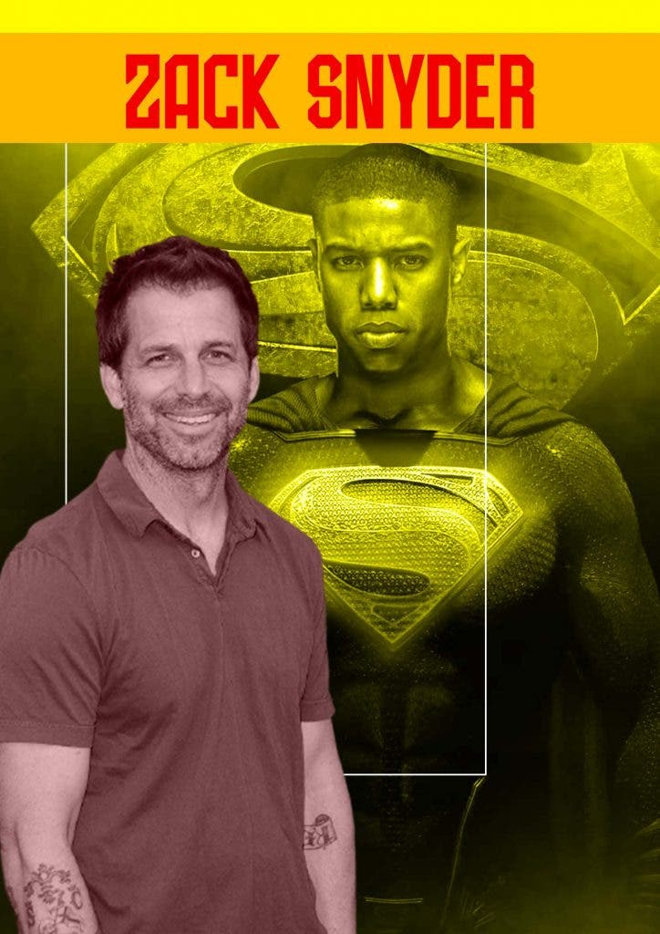 Zack Snyder gives his nod to Black Superman