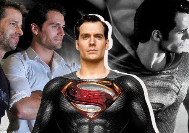 Zack Snyder's Justice League Cut Superman Henry Cavill