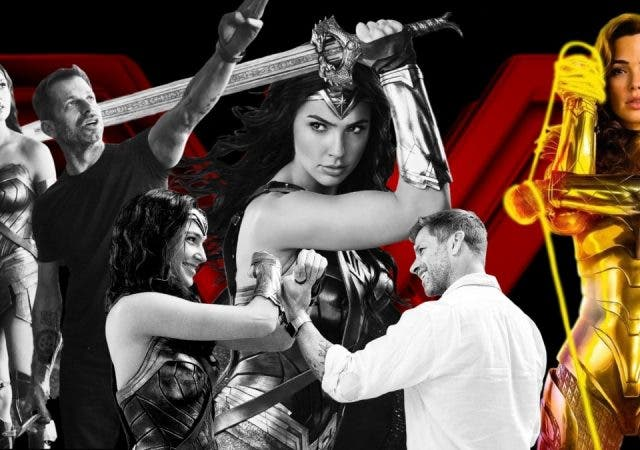 Zack Snyder's Justice League Cut Wonder Woman