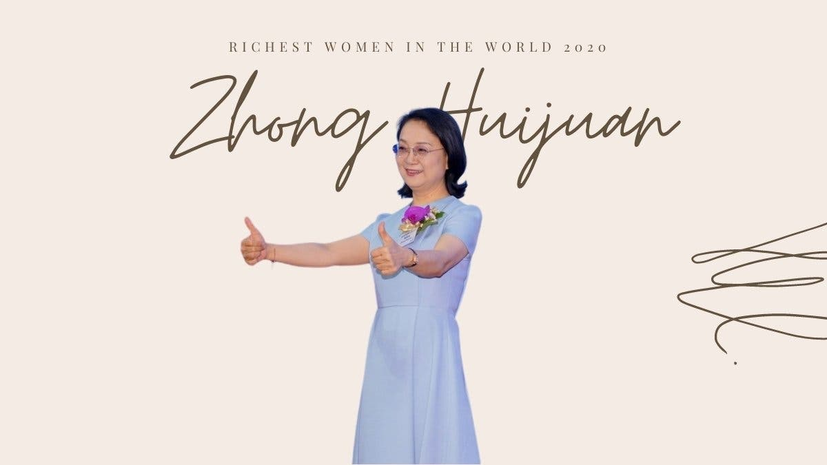 China's Second Richest Woman Zhong Huijuan