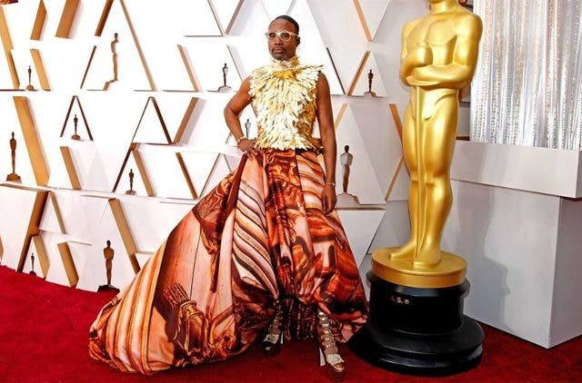 Billy Porter's Oscar Dress