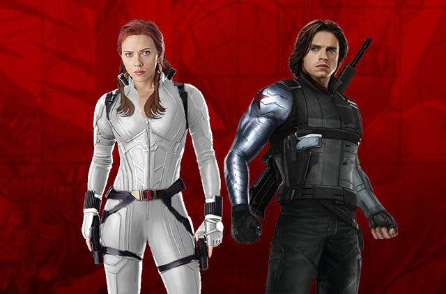 Black Widow Winter Soldier White Suit