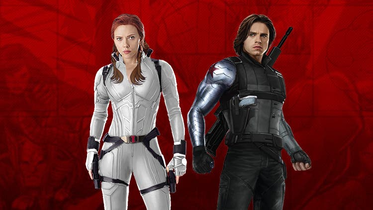 Black Widow S White Suit Foreshadows Brewing Love With Winter Soldier Dkoding