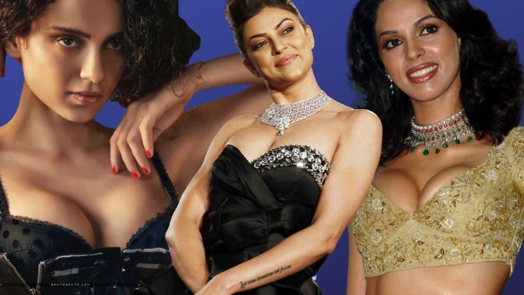 All Breasts Are Beautiful — Here's Bollywood Actresses Who Wore Fake Breasts Like Medals