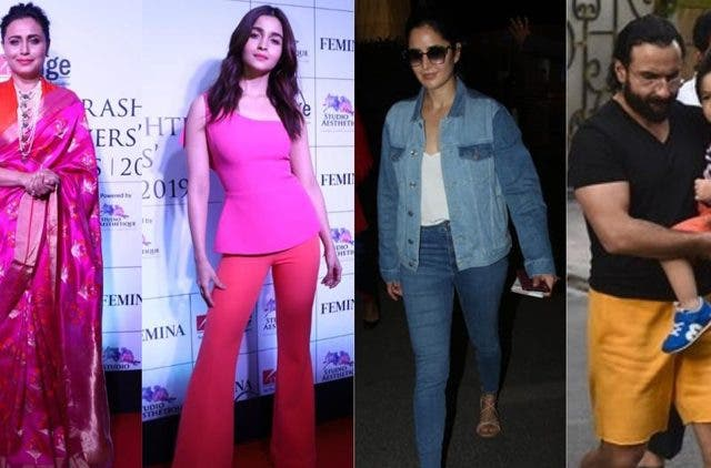 Bollywood celebs spotted in mumbai