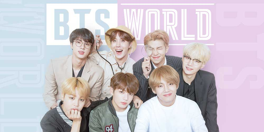 bts world game - features - dkoding