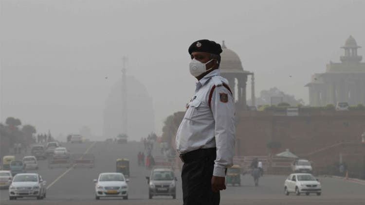 Air pollution in India's capital