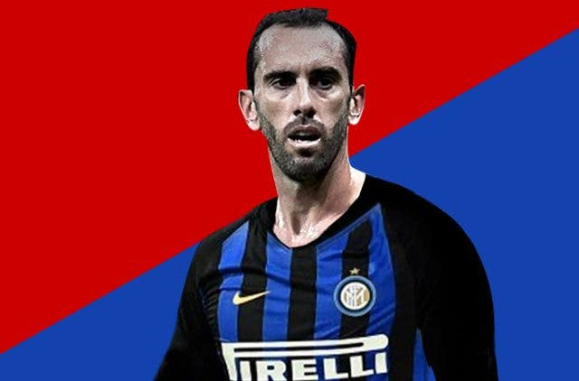 diego godin madrid to itner football transfer