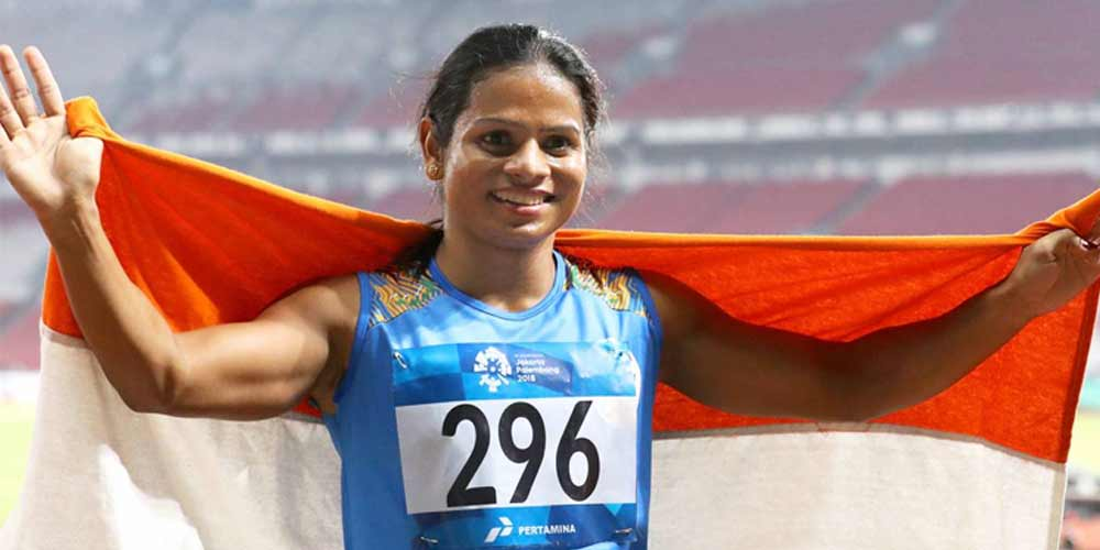 dutee-chand-wins-gold-medal-university competetion-atheletics-sports-dkoding
