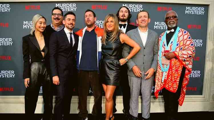 jennifer-aniston-Adam-Sandler-Premiere-Murder-Mystery-Hollywood-Entertainment-DKODING
