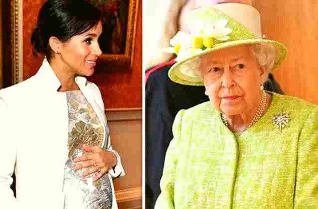 megan-markle-queen-elizabeth-break-royal-tradition-hollywood-entertainment-DKODING