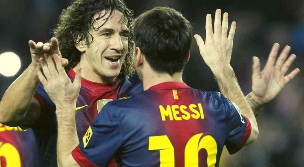 messi and puyol - sports - dkoding