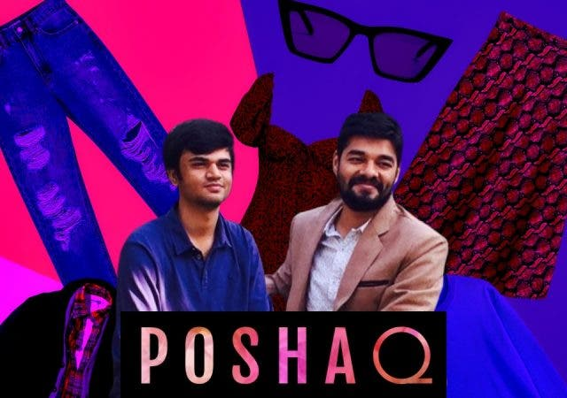 Rachit Dalwadi and Yash Saxena of poshaQ