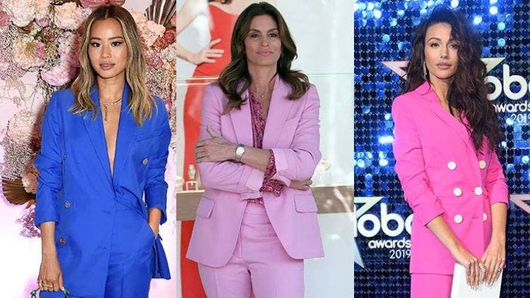 Women Celebrity's Power Play With Sexy Power Business Suits 2019