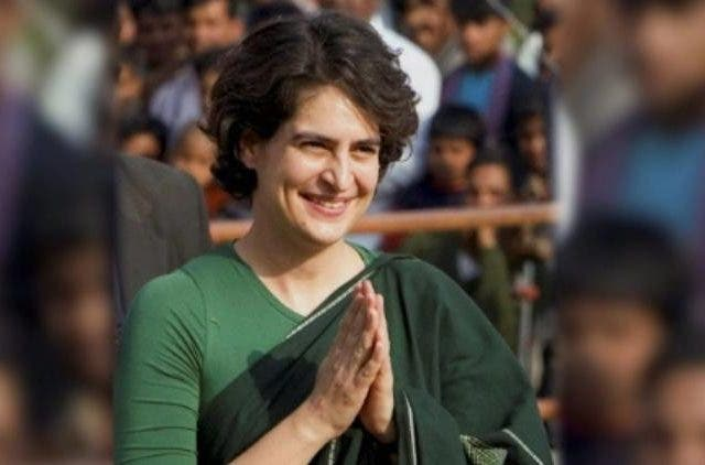 priyanka-Gandhi-in-Uttar Pardesh-India-Politics-DKODING