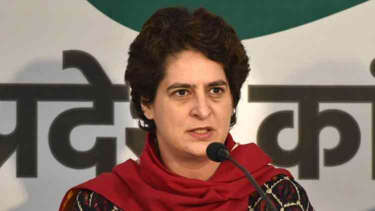 priyanka-gandhi-tragic-see-government-spending-resources-on-industrialists-not-farmers-india-politics-DKODING
