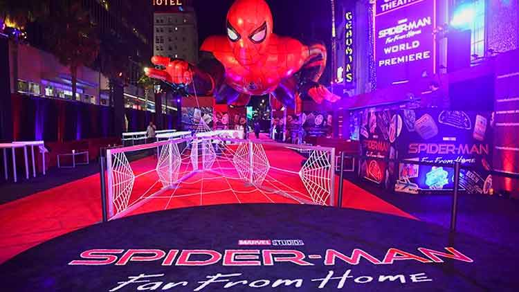 Spider man 'Far from Home' premiere took place in LA