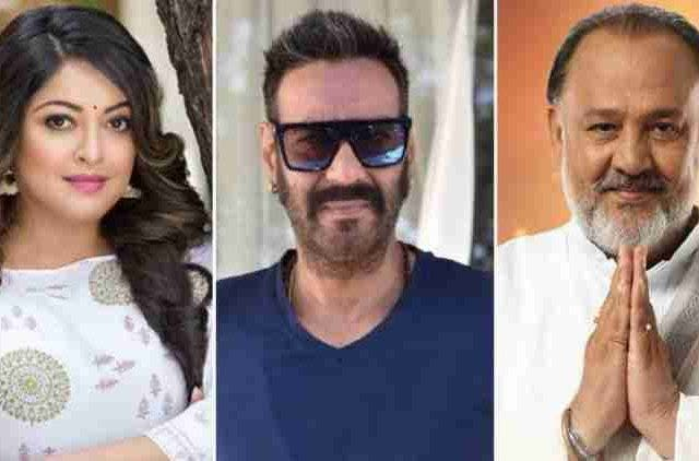 tanushree-dutta-questions-ajay-devgn-for-working-with-alok-nath-bollywood-entertainment-DKODING