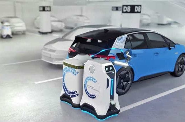 this-volkswagen-robot-drives-to-your-ev-to-charge-it-Tech-Startups-Business-DKODING