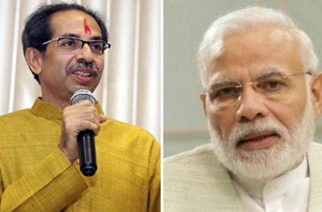 uddhav-thackeray-invites-pm-modi-for-oath-taking-ceremony-India-Politics-DKODING