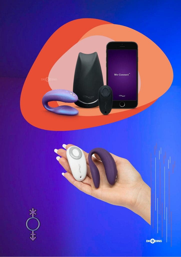 We-Vibe Sync Couples' Remote Control Vibrator