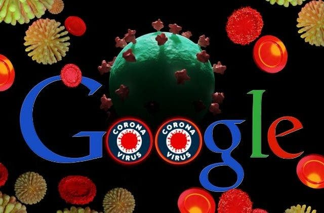 Google's Website on Coronavirus/Covid-19