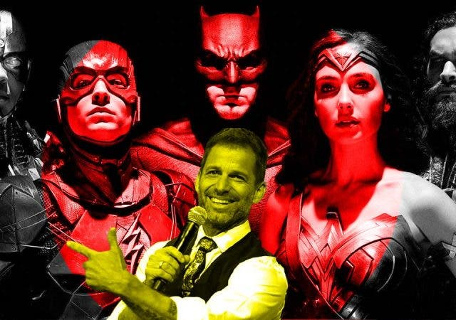 Zack Snyder's Justice League cut